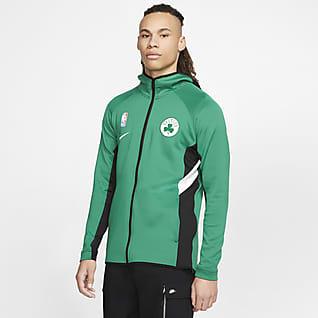 Boston Celtics Showtime Nike Therma Flex NBA Erkek Kapüşonlu Üstü