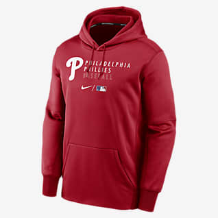 Nike Therma (MLB Philadelphia Phillies) Men's Pullover Hoodie