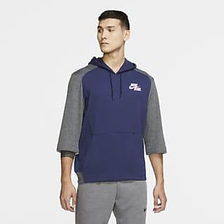Nike Dri-FIT Flux Sudadera con capucha de béisbol de manga 3/4 para hombre