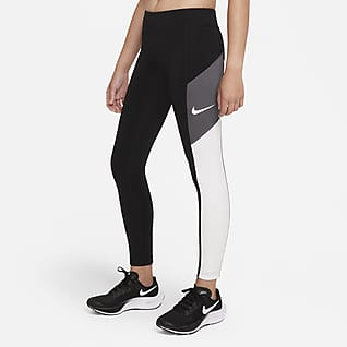 Nike Dri-FIT Trophy Older Kids' (Girls') Training Leggings