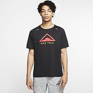 Nike Rise 365 Trail Trailrunningtop voor heren