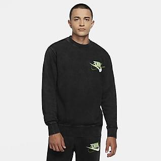 Nike Sportswear Tröja med rund hals i fransk frotté för män
