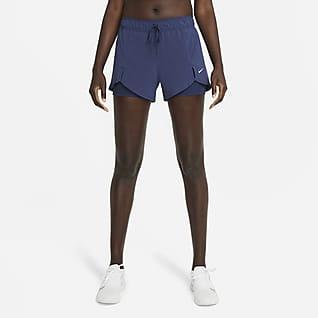 Nike Flex Essential 2-in-1 กางเกงเทรนนิ่งขาสั้นผู้หญิง