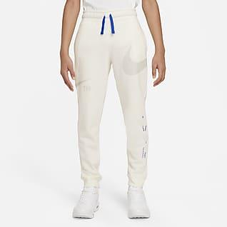 Nike Sportswear Swoosh Pantalón de tejido Fleece - Niño