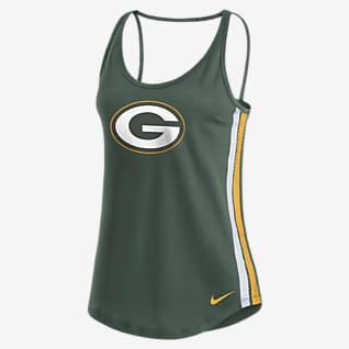 Nike Dri-FIT (NFL Green Bay Packers) Women's Open Back Tank Top