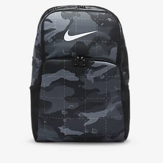 Nike Brasilia Mochila de entrenamiento camuflajeada (extra grande)