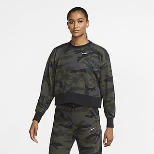 Nike Dri-FIT Get Fit Sudadera de entrenamiento camuflada para mujer