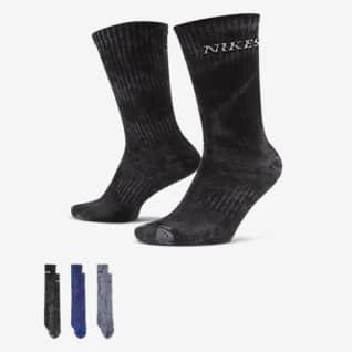 Nike SB Everyday Plus Lightweight Skate Crew Socks (3 Pairs)