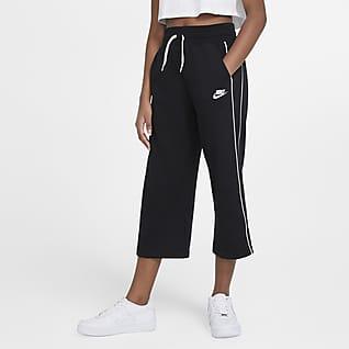 Nike Sportswear Pantalones de French Terry para niña talla grande