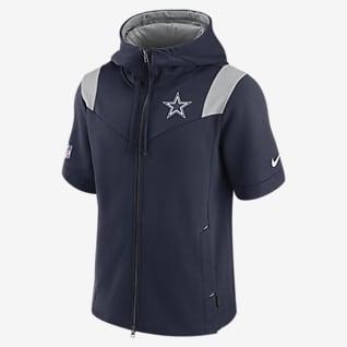 Nike Sideline Showout (NFL Dallas Cowboys) Men's Short-Sleeve Full-Zip Hoodie