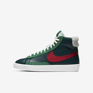 Nike Blazer Mid Big Kids' Shoe