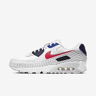 Hombre Blanco Air Max 90 Zapatillas. Nike ES