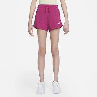 Nike Sportswear Jerseyshorts til store barn (jente)