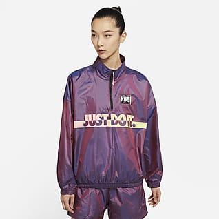 Nike Sportswear เสื้อแจ็คเก็ตทอแบบสวมผู้หญิง
