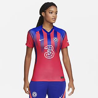 Terceiro equipamento Stadium Chelsea FC 2020/21 Camisola de futebol para mulher