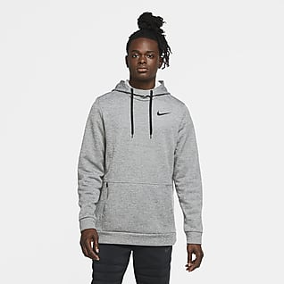 Nike Therma Felpa pullover da training con cappuccio - Uomo