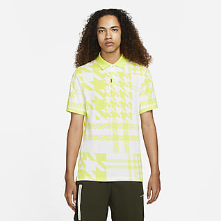 The Nike Polo Ανδρική καρό μπλούζα πόλο με στενή εφαρμογή