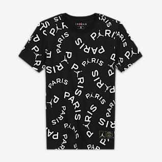Paris Saint-Germain T-shirt til store drenge