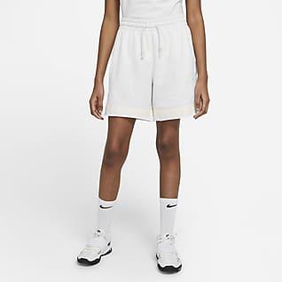 Nike Standard Issue Swoosh Fly Basketshorts til dame