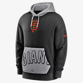 Nike Crop Pocket Heritage (MLB San Francisco Giants) Men's Pullover Hoodie