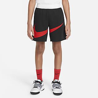 Nike Dri-FIT Basketbalové kraťasy pro větší děti (chlapce)