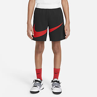 Nike Dri-FIT Basketshorts til store barn (gutt)