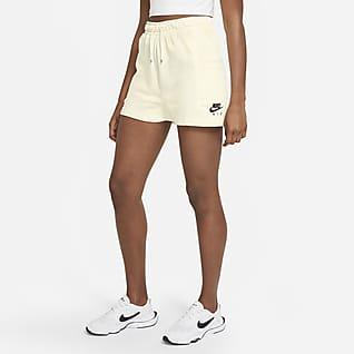 Nike Air Shorts de tejido Fleece para mujer