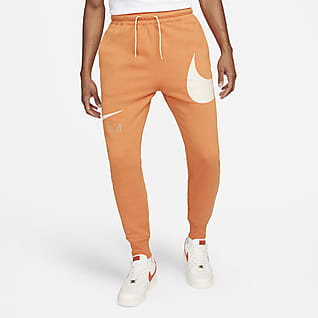 Nike Sportswear Swoosh Félig bolyhosított férfinadrág