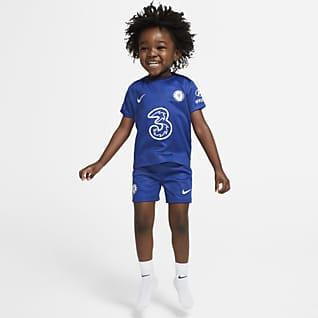 Chelsea FC 2020/21 (wersja domowa) Strój piłkarski dla niemowląt/maluchów