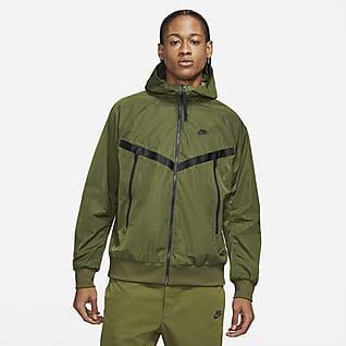 Nike Sportswear Premium Essentials Chamarra Windrunner con capucha sin forro para hombre