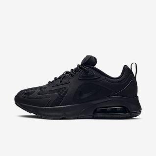 nike black shoes womens