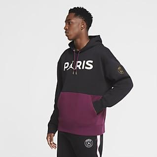 Paris Saint-Germain Sudadera con capucha sin cierre de tejido Fleece para hombre