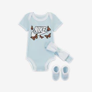 Nike Conjunto de 3 piezas para bebé