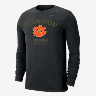 Nike College Dri-FIT (Clemson) Men's Long-Sleeve T-Shirt