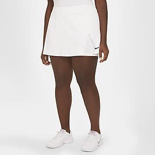NikeCourt Victory Tennisnederdel til kvinder (plus size)