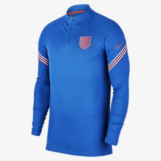 Nike VaporKnit Anglia Strike Męska treningowa koszulka piłkarska