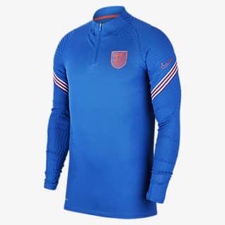 Nike VaporKnit Inglaterra Strike Drill Camiseta de entrenamiento de fútbol - Hombre