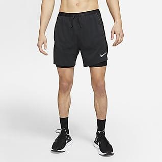 Nike Flex Stride Run Division กางเกงวิ่งขาสั้นผู้ชายไฮบริด