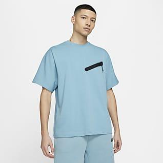 Nike Sportswear Haut en maille à manches courtes pour Homme