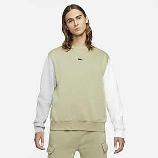 Nike Sportswear Camisola Swoosh de lã cardada para homem