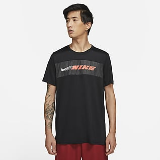 Nike Dri-FIT Superset Sport Clash Kurzarm-Trainingsoberteil für Herren