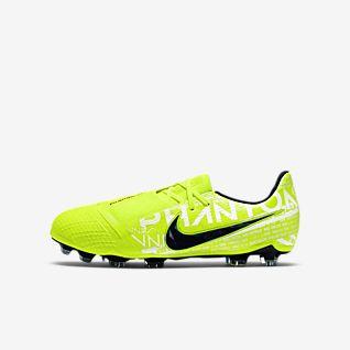 Nike Jr. Phantom Venom Elite FG Fotbollssko för gräs för ungdom