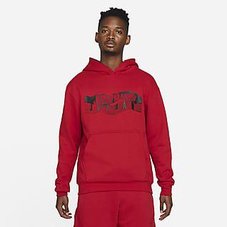 Jordan Essential Sudadera con gorro y con gráfico de tejido Fleece para hombre