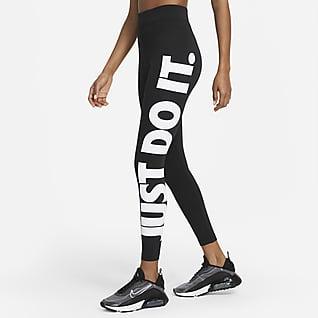 Nike Sportswear Essential Leggings de cintura subida para mulher