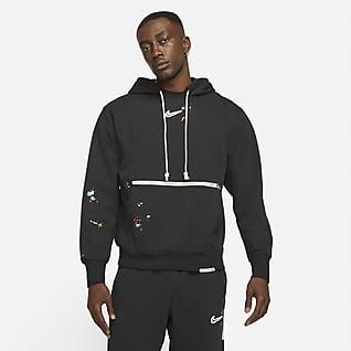 Nike Standard Issue Sudadera con capucha de básquetbol sin cierre para hombre