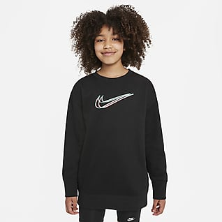 Nike Sportswear Sudadera para niña talla grande