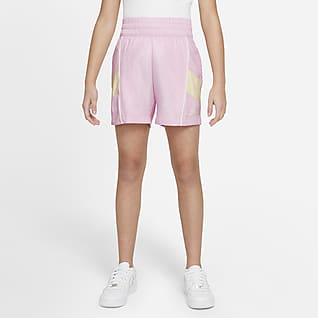 Nike Sportswear Heritage 大童(女孩)梭织短裤