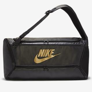 Nike Brasilia เป้สะพายหลัง/กระเป๋า Duffel เทรนนิ่งปรับเปลี่ยนได้