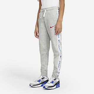 Nike Sportswear Swoosh 大童(男孩)针织长裤