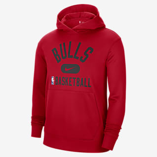 Chicago Bulls Spotlight Men's Nike Dri-FIT NBA Pullover Hoodie